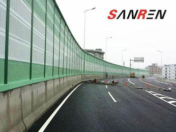 广州三元里大道高架桥噪音治理